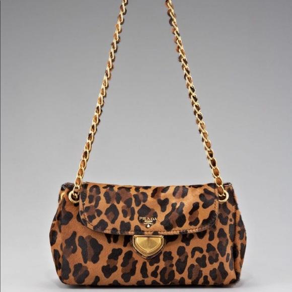53cc9b5f9475 Prada Flap Chain Leopard Cavallino Calf Hair Bag. M_5c6b1998d6dc52c5760cfe1b